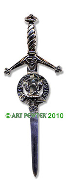 JOHNSTONE Clan Kilt Pin