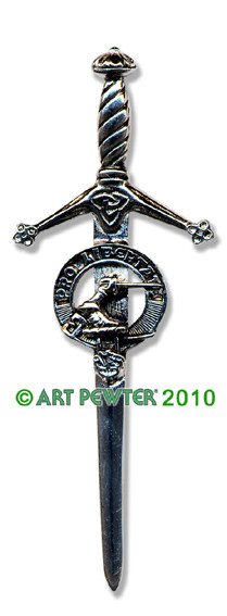 WALLACE Clan Kilt Pin