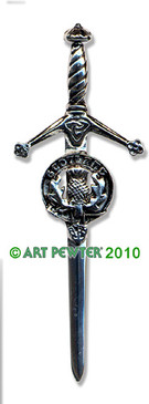 SCOTLAND Clan Kilt Pin