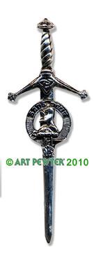 SUTHERLAND Clan Kilt Pin