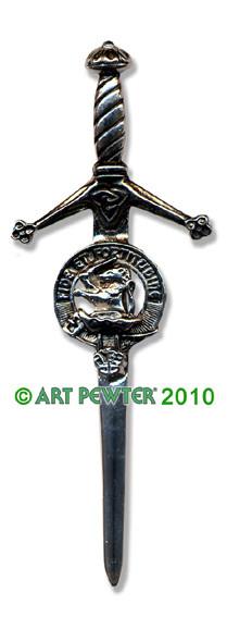 FARQUHARSON Clan Kilt Pin