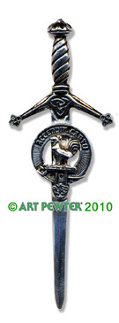 COCKBURN Clan Kilt Pin
