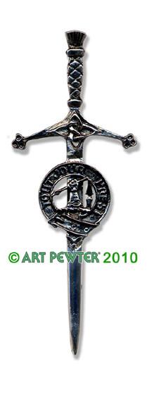 CARMICHAEL Clan Kilt Pin