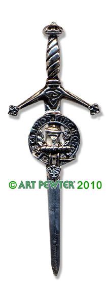 BUCHANAN Clan Kilt Pin