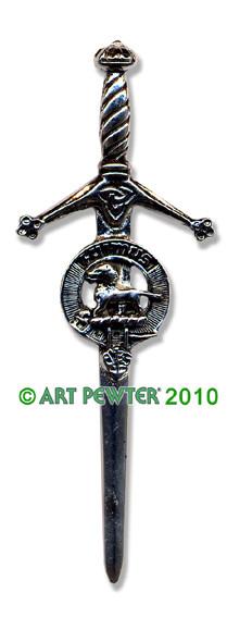 BRUCE Clan Kilt Pin