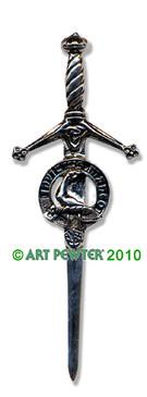 ARMSTRONG Clan Kilt Pin