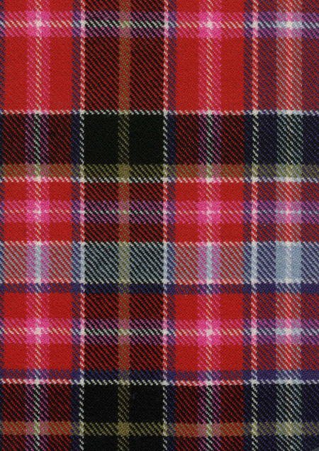 Aberdeen Tartan Fabric Swatch