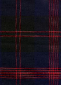 Angus Modern Tartan Fabric Swatch