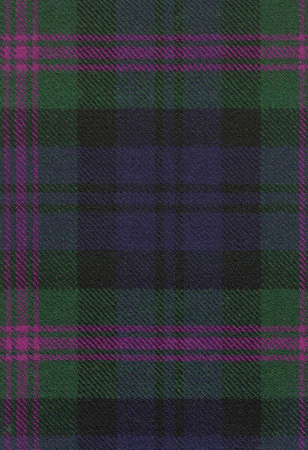 Baird Weathered Tartan Fabric Swatch