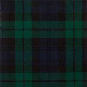 Blackwatch Modern Tartan Fabric Swatch