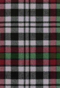 Borthwick Dress Modern Tartan Fabric Swatch