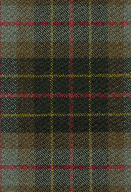 Brodie Htg Weathered Tartan Fabric Swatch