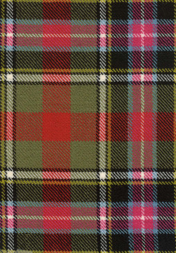 Bruce Of Kinnaird Ancient Tartan Fabric Swatch