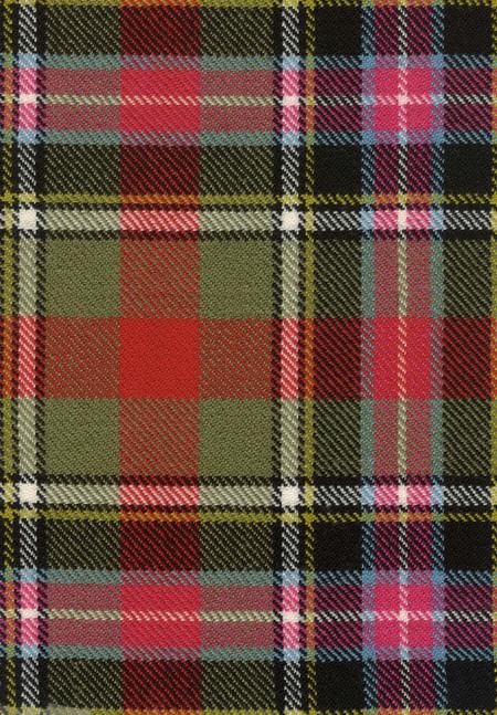Bruce Of Kinnaird Ancient Tartan Fabric Swatch