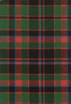 Buchan Clan Ancient Tartan Fabric Swatch