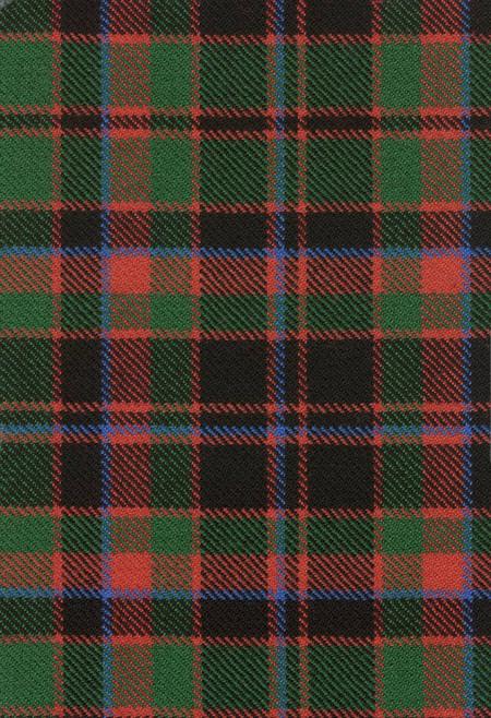Buchan Clan Ancient Tartan Fabric Swatch