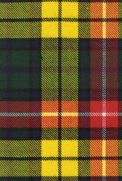 Buchanan Modern Tartan Fabric Swatch