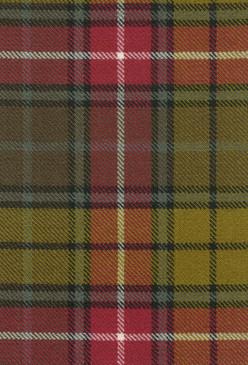 Buchanan Weathered Tartan Fabric Swatch