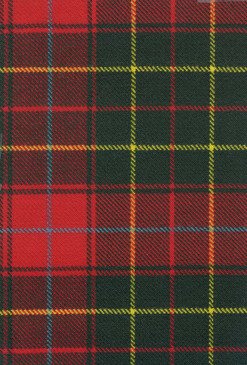 Burnett Modern Tartan Fabric Swatch