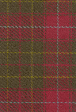 Burnett Weathered Tartan Fabric Swatch