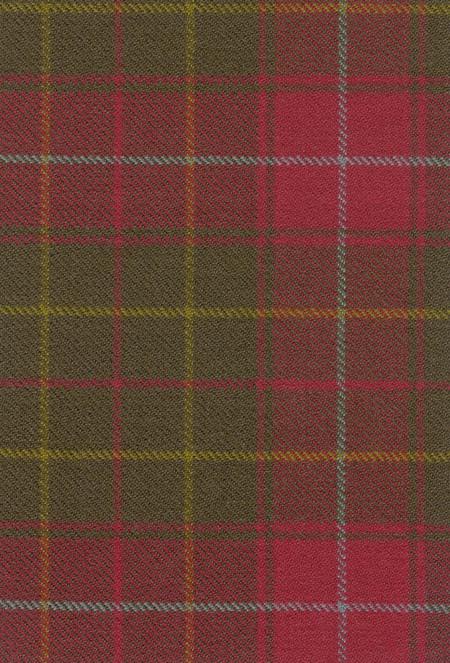 Burnett Weathered Tartan Fabric Swatch