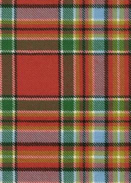 Chattan Ancient Tartan Fabric Swatch