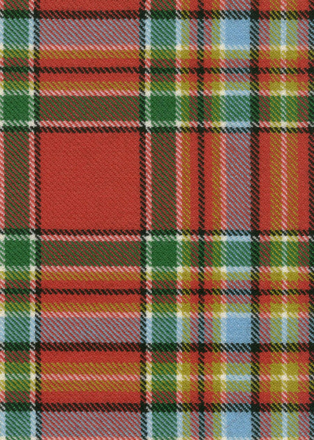 Chattan Ancient Tartan Fabric Swatch