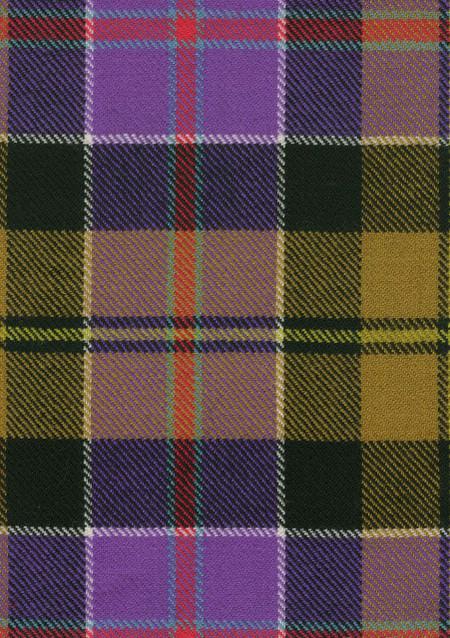 Culloden Ancient Tartan Fabric Swatch