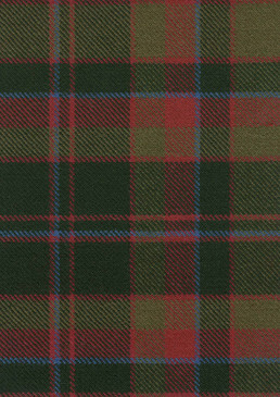 Cumming Htg Weathered Tartan Fabric Swatch