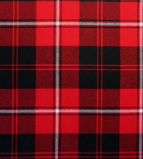 Cunningham Tartan Fabric Swatch
