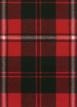 Cunningham Modern Tartan Fabric Swatch