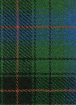 Davidson Clan Ancient Tartan Fabric Swatch