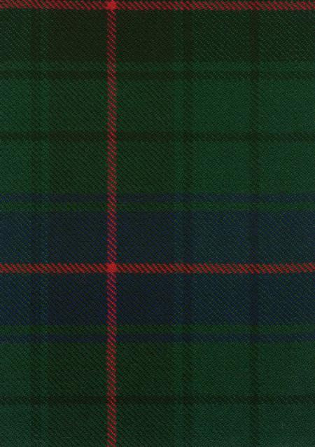 Davidson Clan Modern Tartan Fabric Swatch