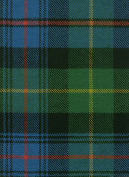 Farquharson Ancient Tartan Fabric Swatch
