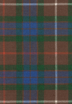 Fraser Htg Ancient Tartan Fabric Swatch