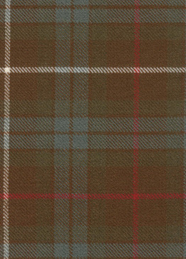 Fraser Htg Weathered Tartan Fabric Swatch