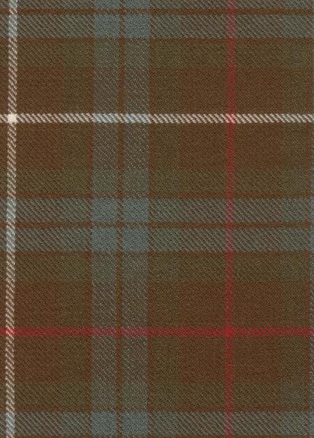 Fraser Htg Weathered Tartan Fabric Swatch