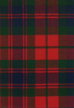 Fraser Old Modern Tartan Fabric Swatch