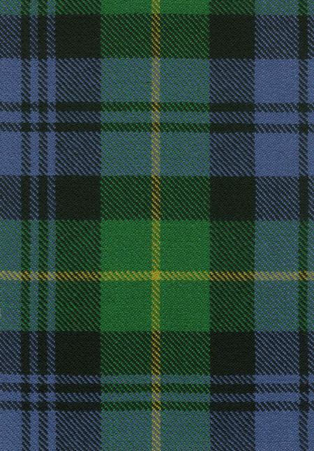 Gordon Clan Ancient Tartan Fabric Swatch