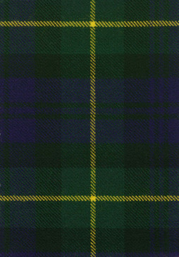 Gordon Clan Modern Tartan Fabric Swatch