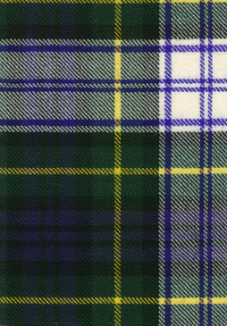 Gordon Dress Modern Tartan Fabric Swatch