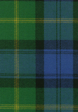 Gordon Old Ancient Tartan Fabric Swatch