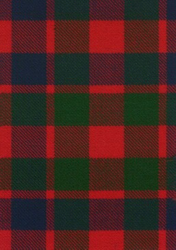 Gow Modern Tartan Fabric Swatch