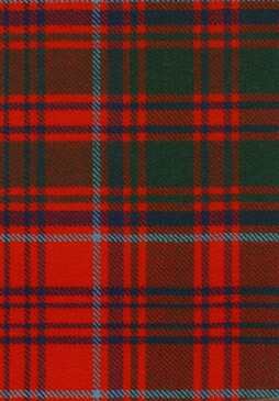 Grant Modern Tartan Fabric Swatch