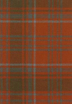 Grant Weathered Tartan Fabric Swatch