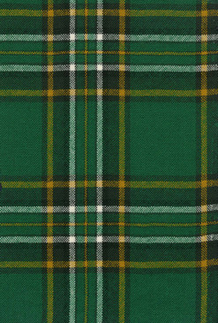 Irish National Tartan Fabric Swatch