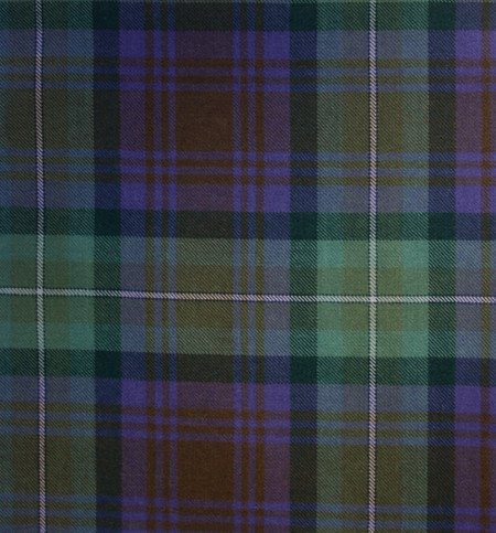 Isle Of Skye Tartan Fabric Swatch