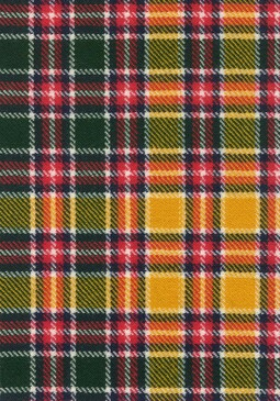 Jacobite Modern Tartan Fabric Swatch