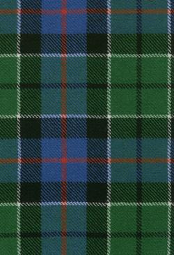Leslie Green Ancient Tartan Fabric Swatch