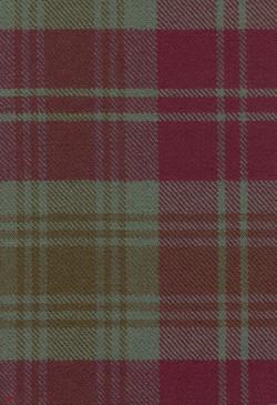 Lindsay Weathered Tartan Fabric Swatch